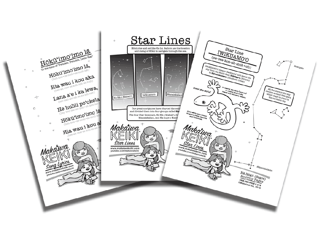 "FREE Printable Learning Guide for ""A Hawaiian Lullaby"""